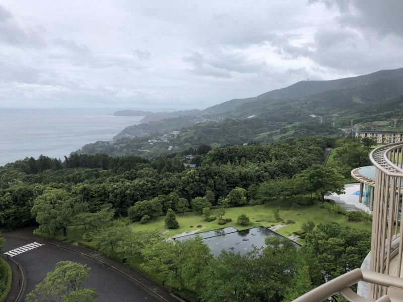 ヒルトン小田原景色