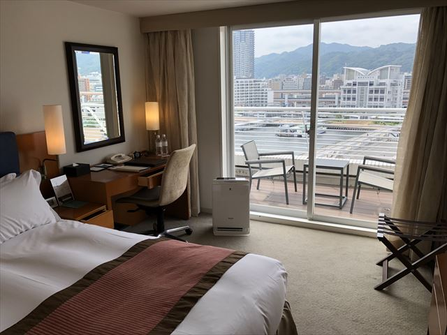 神戸メリケンパークオリエンタルホテル室内