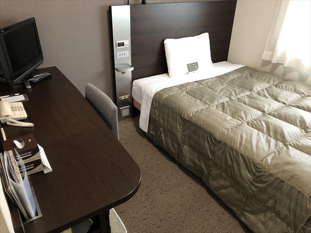 コンフォートホテル帯広シングルルーム