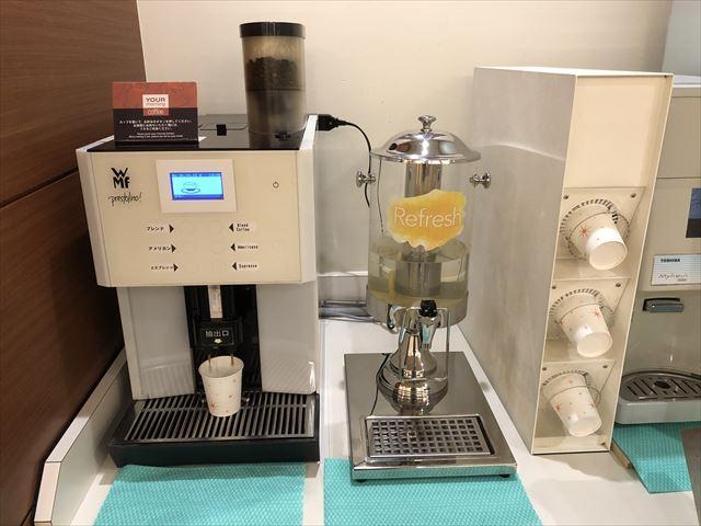 コンフォートホテル帯広コーヒーサーバー