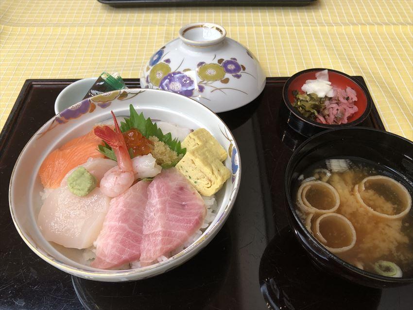 ANAクラウンプラザホテル釧路海鮮丼
