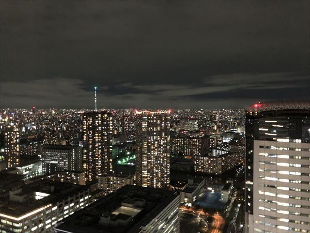 三井ガーデンホテル豊洲ベイサイドクロス-景色-夜